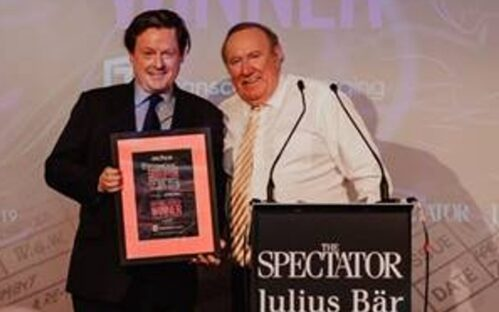 Transcend doubles down in disruption at Spectator Awards