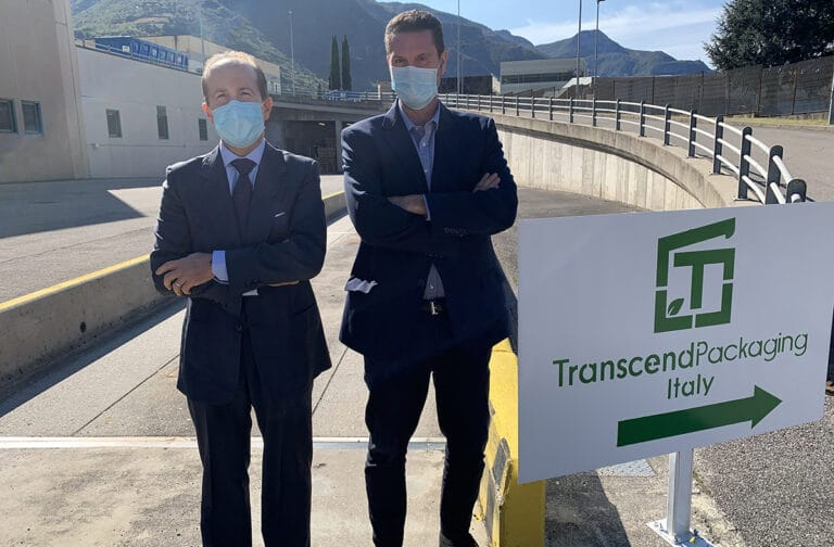 Eco-packaging disruptor Transcend Packaging grows EU footprint with Italian paper straw production