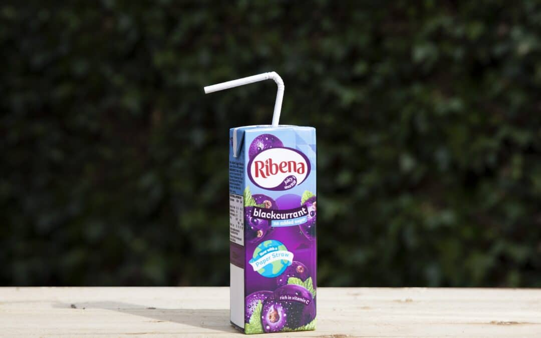 The final straw: Ribena becomes first major UK juice drinks brand to trial paper straws on cartons
