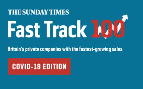 The Sunday Times Fast Track 'Ones to Watch' Recognition